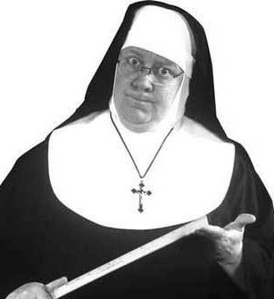 Nun With Ruler Gif Use Of be Instead to Be In Passive