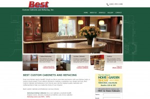 Web Design: Best Custom Cabinet Fort Wayne